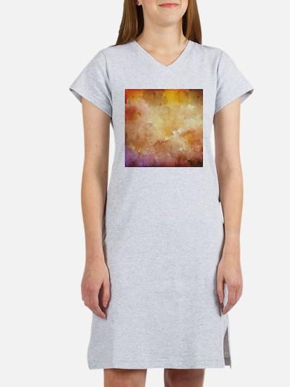 Vintage Floral Grunge Nostalgic Texture T-Shirt