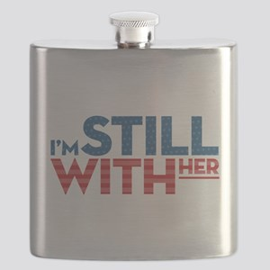 I'm Still With Her Flask