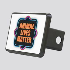 Animal Lives Matter Rectangular Hitch Cover