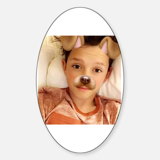 Cute Jacob Sticker (Oval)