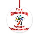 spiritual-being Round Ornament