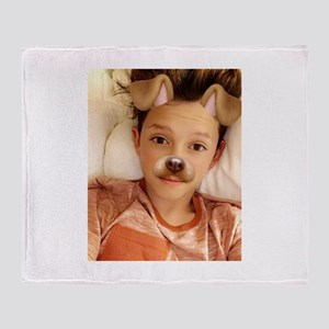 Jacob Sartorius Throw Blanket
