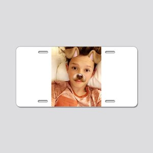 Jacob Sartorius Aluminum License Plate