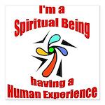 spiritual-being Square Car Magnet 3
