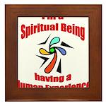 spiritual-being Framed Tile