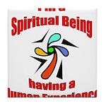 spiritual-being Tile Coaster