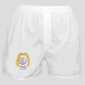 Don't Blame me I voted for the Bl Boxer Shorts