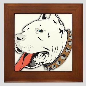 Pitbull Framed Tile