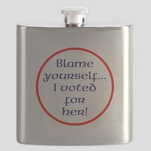Blame yourself Flask