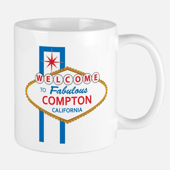 Welcome to Compton.png Mugs