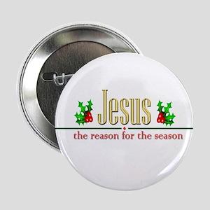 """Jesusseason 2.25"""" Button (10 Pack)"""