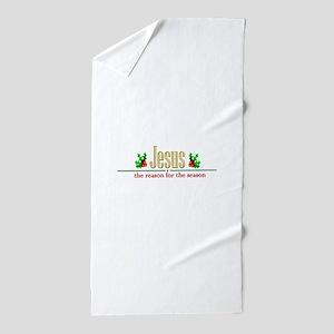 jesusseason Beach Towel