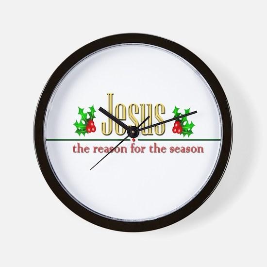 jesusseason.png Wall Clock