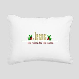 jesusseason Rectangular Canvas Pillow
