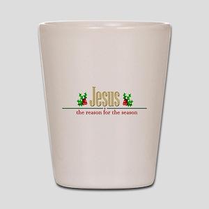 jesusseason Shot Glass