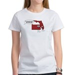 Think About What You've Done (womens) T-Shirt