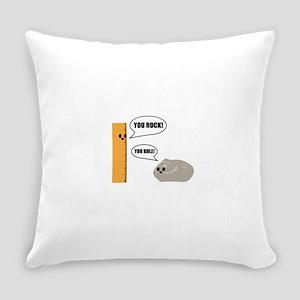 You Rock! You Rule! Pun Everyday Pillow