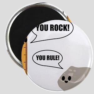 You Rock! You Rule! Pun Magnet