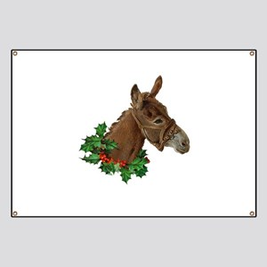 Muletide Greetings Banner