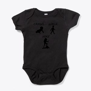 Crawl Walk Hike Body Suit