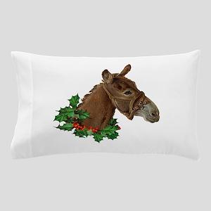 Muletide Greetings Pillow Case
