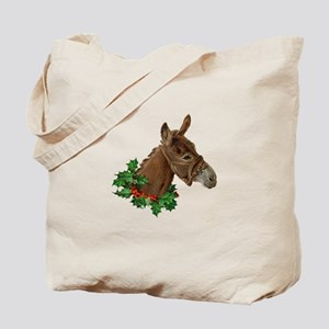 Muletide Greetings Tote Bag