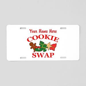 Cookie Swap Aluminum License Plate