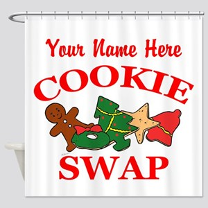 Cookie Swap Shower Curtain