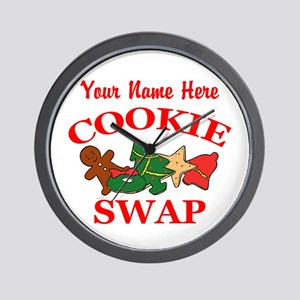 Cookie Swap Wall Clock