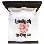 listen-like-the-dying-2 King Duvet