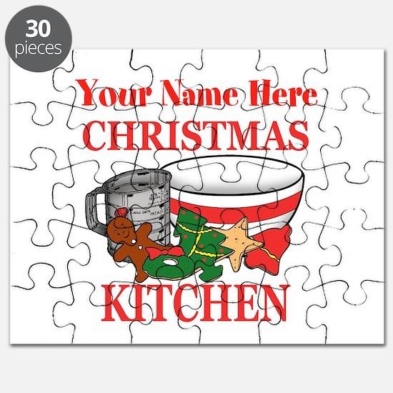 Christmas Kitchen Puzzle