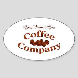 Vintage Coffee Company Sticker