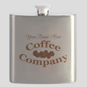 Vintage Coffee Company Flask