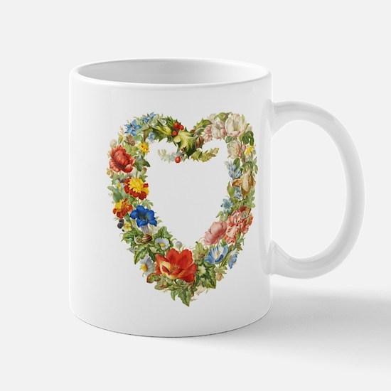 Floral Wreath Mugs