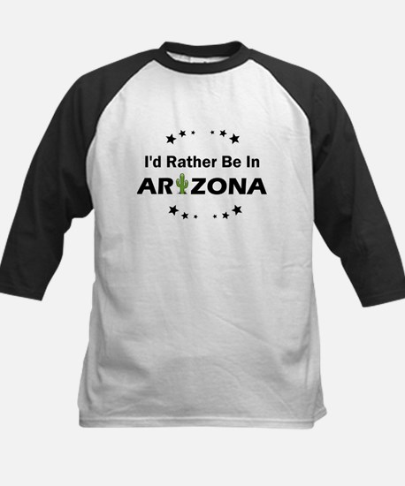 I'd rather be in Arizona Baseball Jersey