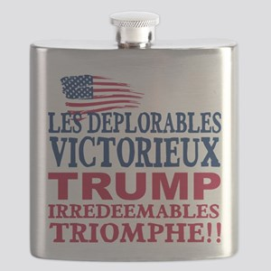 The Deplorables Celebrate Victory Flask