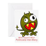 Child of Politics Greeting Cards (Pk of 10)