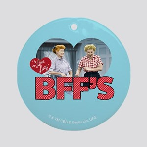 BFFs Round Ornament