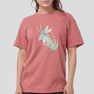 Watercolor Dragonfly painting in soft Blue T-Shirt