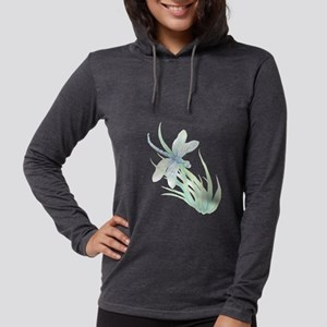 Watercolor Dragonfly painting Long Sleeve T-Shirt