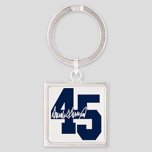 President Trump 45 - Donald Trump Keychains