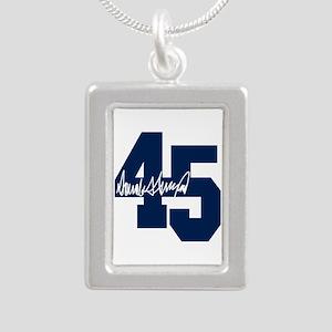 President Trump 45 - Donald Trump Necklaces