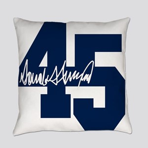 President Trump 45 - Donald Trump Everyday Pillow