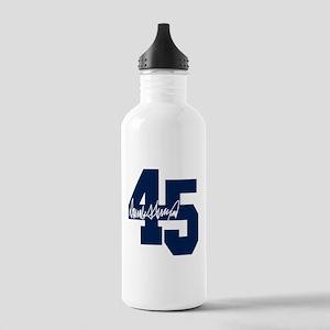 President Trump 45 - Donald Trump Water Bottle