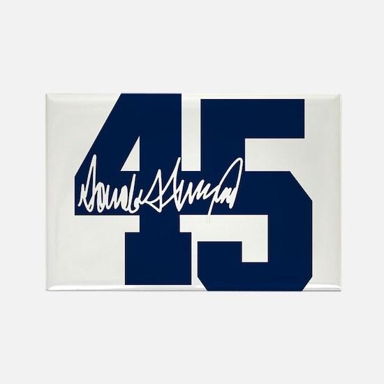 President Trump 45 - Donald Trump Magnets