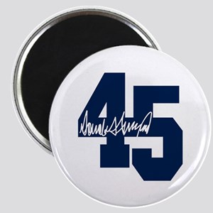 President Trump 45 - Donald Trump Magnets