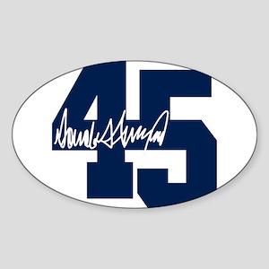 President Trump 45 - Donald Trump Sticker