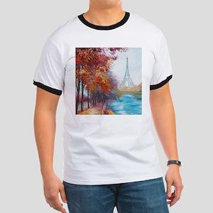 Paris Painting Ringer T