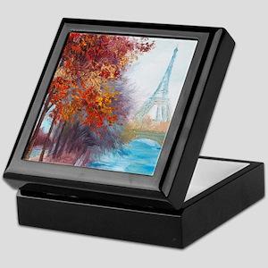Paris Painting Keepsake Box