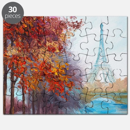 Paris Painting Puzzle